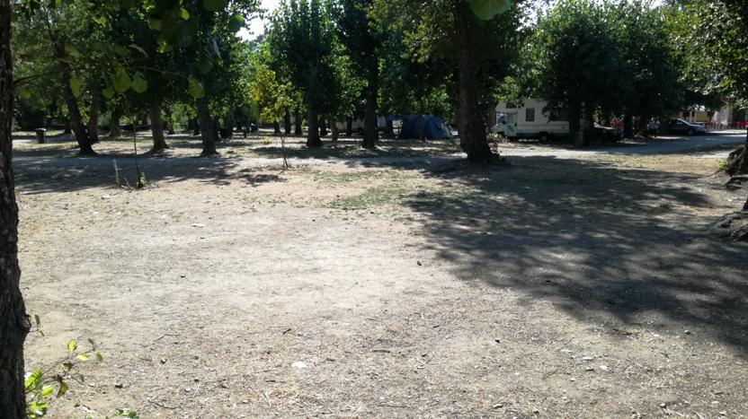 Zona do parque de merendas
