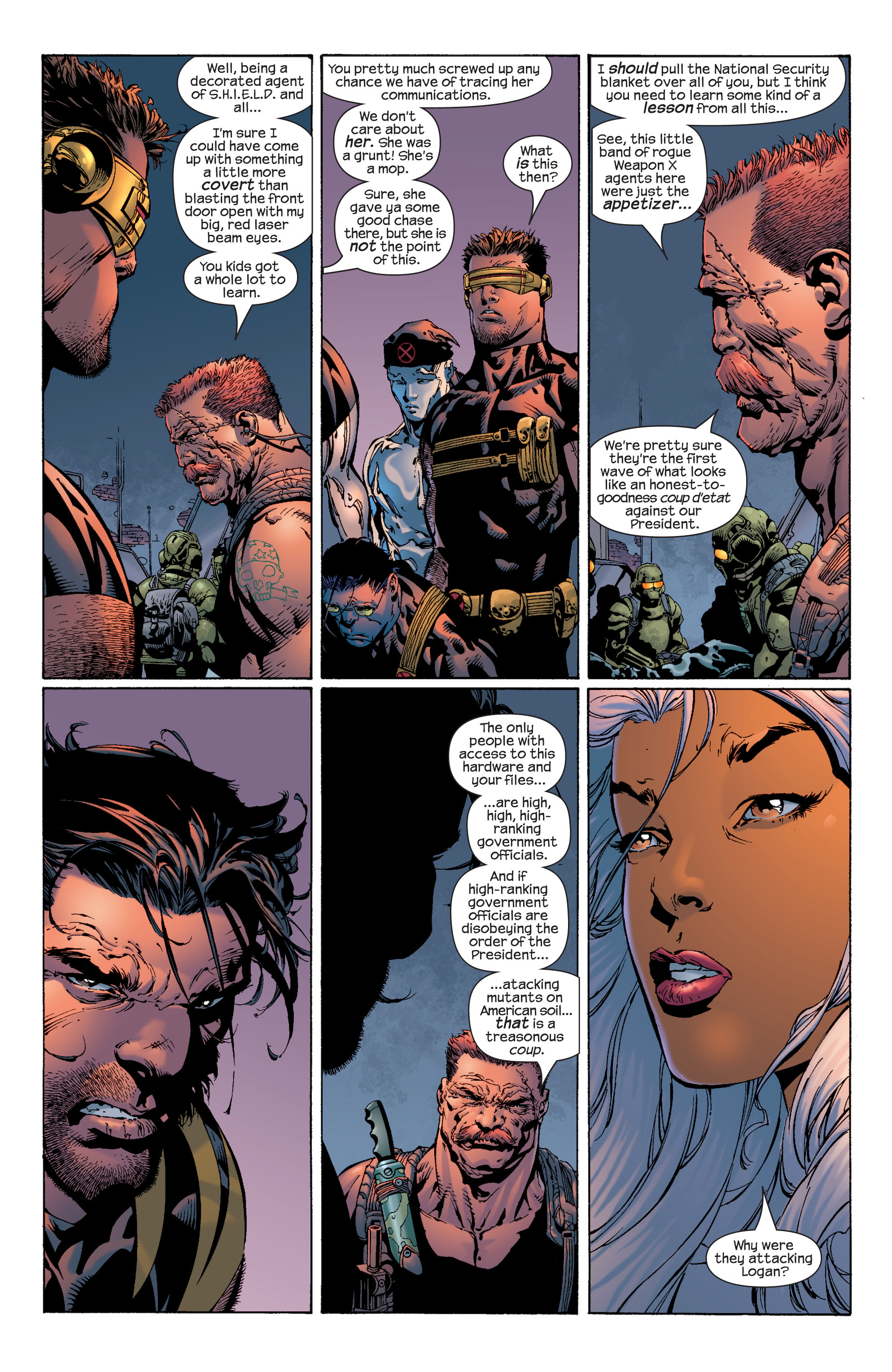 Read online Ultimate X-Men comic -  Issue #39 - 16