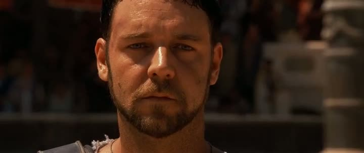 Screen Shot Of Gladiator (2000) Dual Audio Movie 300MB small Size PC Movie