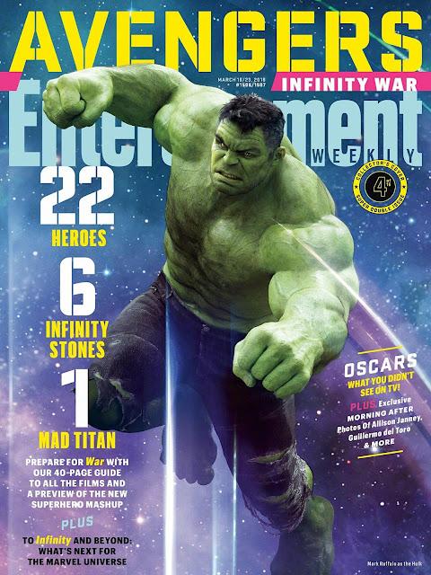 Poster Menarik Sempena Avengers: Infinity War!