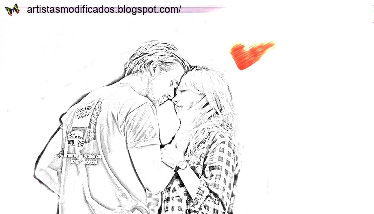 Artistas Modificados: Namorados Para Sempre >> Efeito