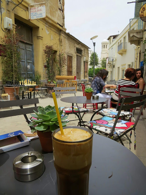 One Week in Cyprus: Frappe in Old Town Lemesos