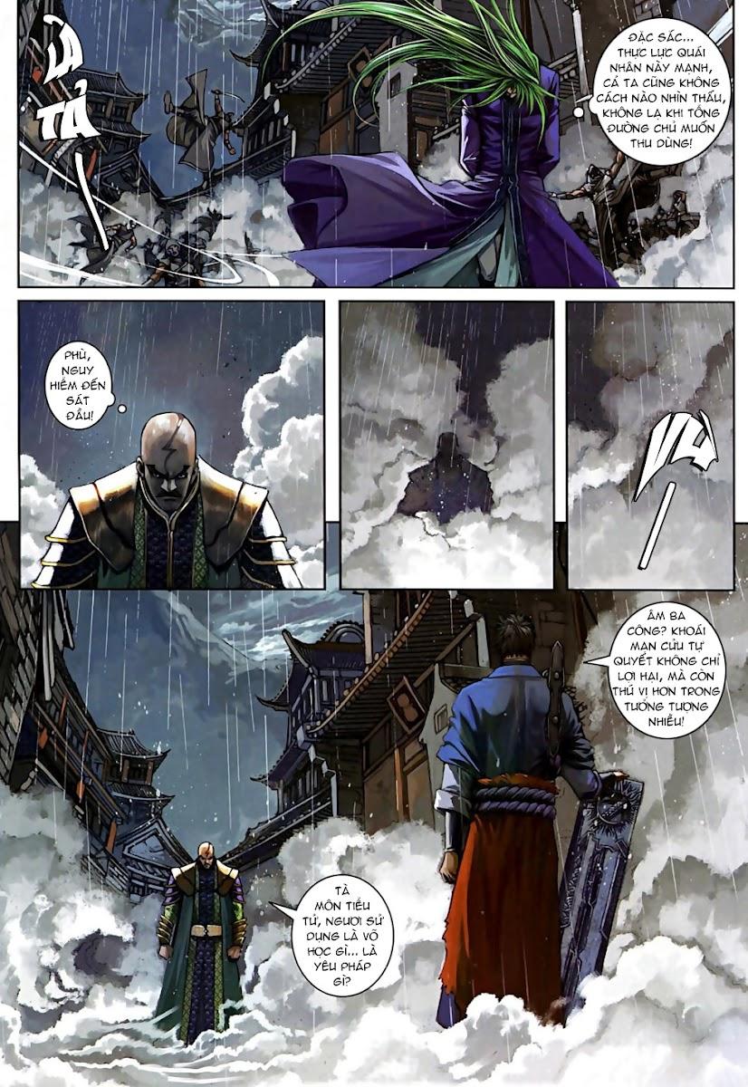 Ôn Thuỵ An Quần Hiệp Truyện Phần 2 chapter 5 trang 9