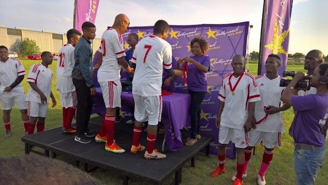 Prize Giving - Hollywoodbets Charity Soccer Tournament - Polokwane