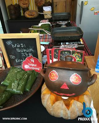 Nasi Kendil Yey, Kemang BBQ Party Chapter 8, Retro Halloween