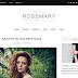 Rosemary Template Grátis Para Blogger