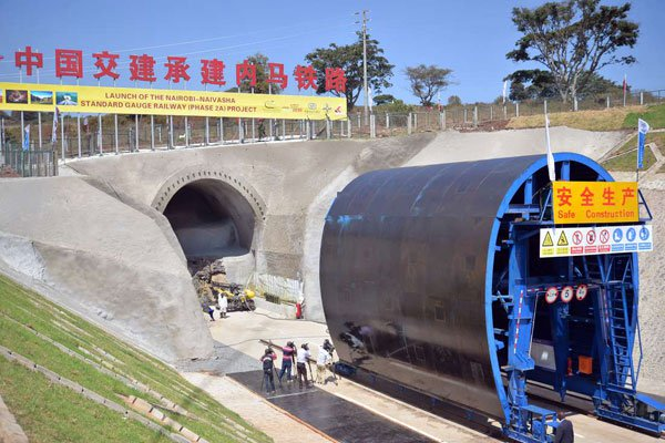 Two Kenyans Pay The Ultimate Price As SGR Tunnel Collapses