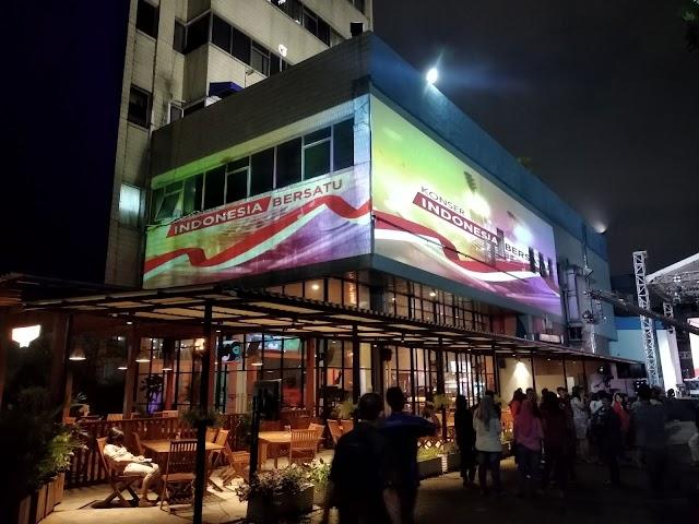 Video 3D Mapping TVRI | Konser Indonesia Bersatu