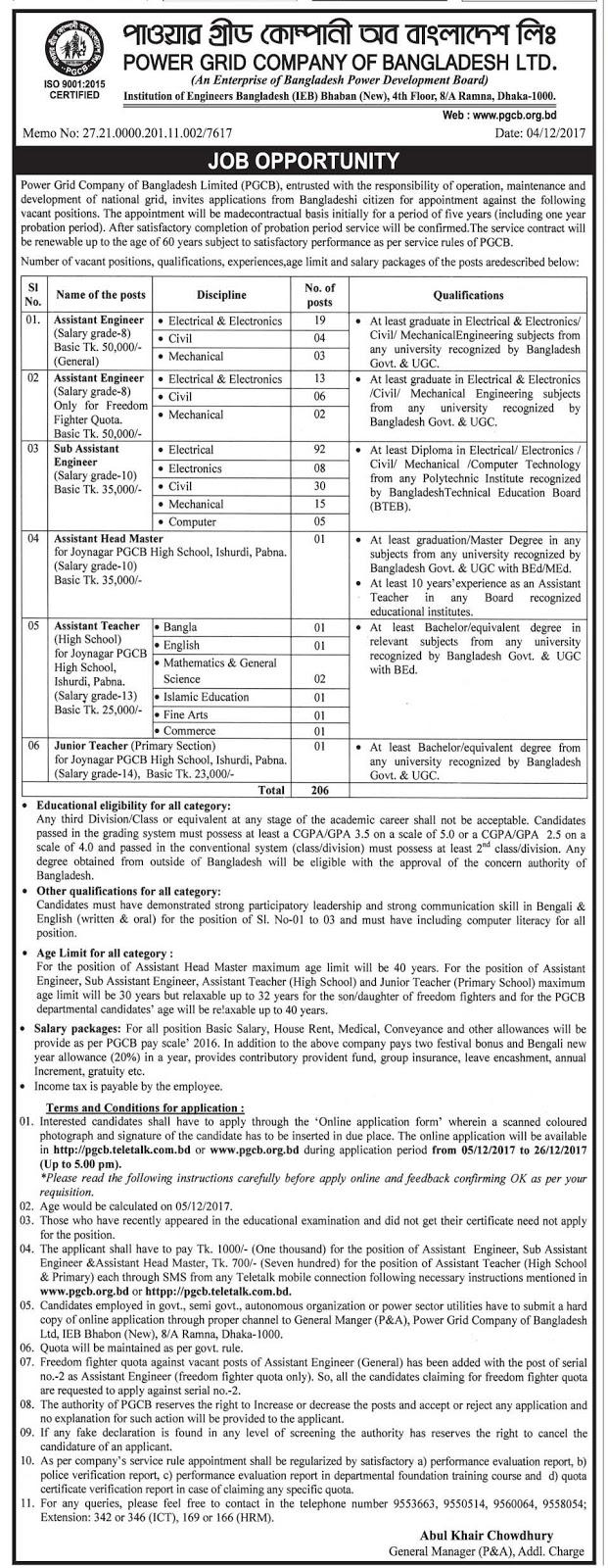 Power Grid Company of Bangladesh (PGCB)