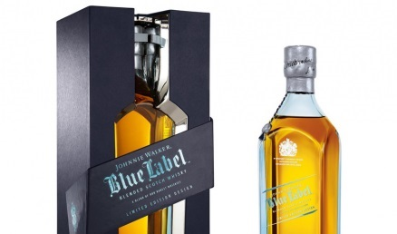 Obsequia a tu enamorado con una botella de whisky Johnnie Walker Blue Label