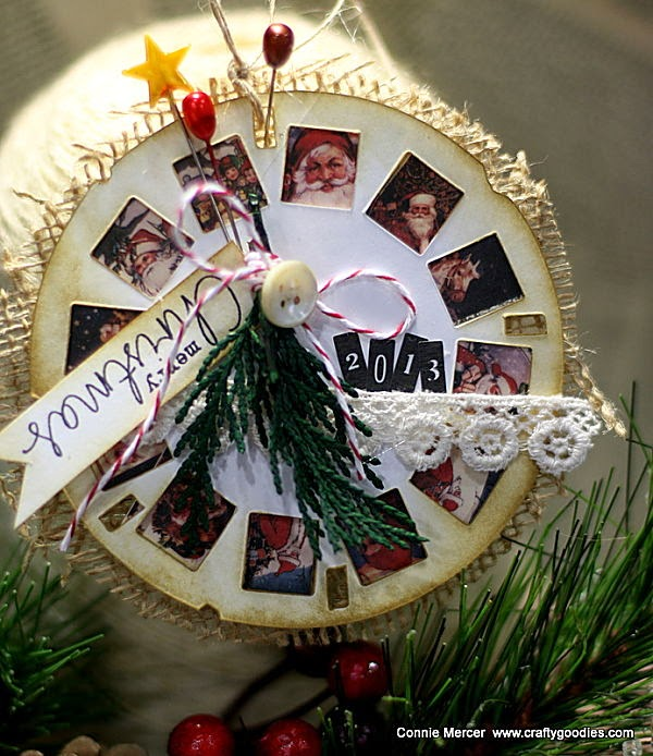 crafty goodies: Vintage Inspired Christmas Ornaments with ...