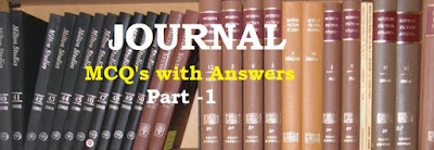 Journal – MCQs with Answers