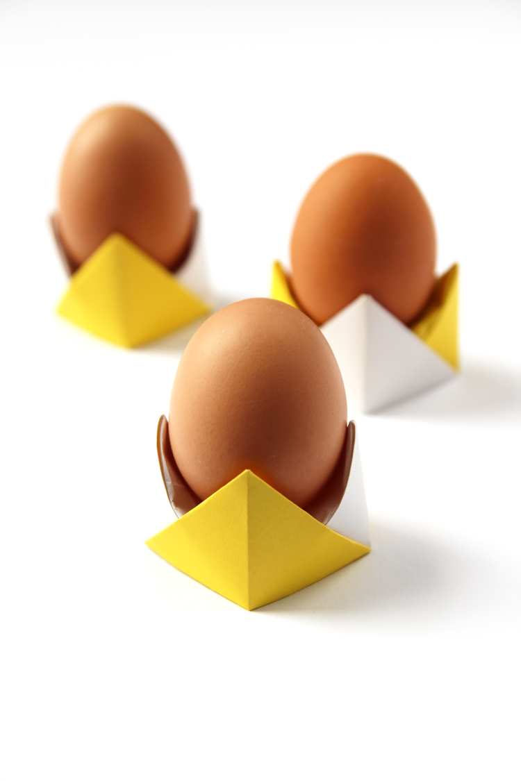 Diy Origami Egg Cups