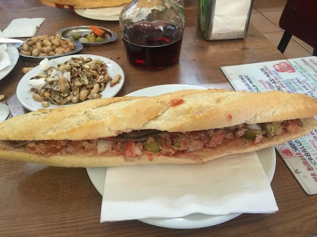 Almuerzos Populares - Bocadillo de La Pascuala