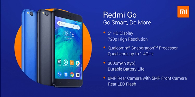 Redmi Go Now Official