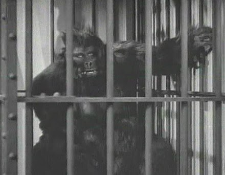 Ray Corrigan in an uncredited role as the gorilla