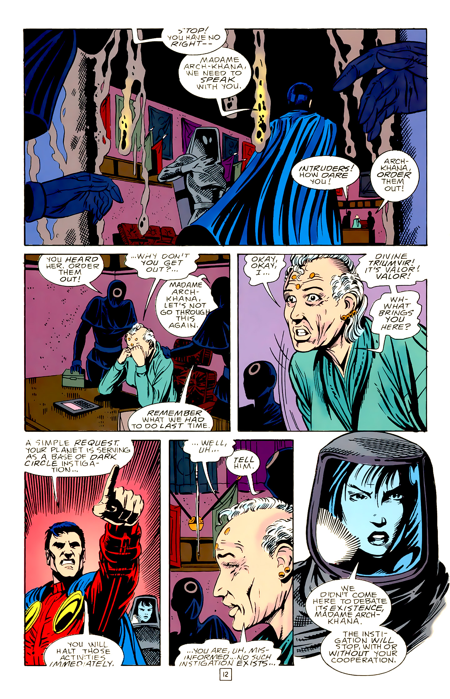 Legion of Super-Heroes (1989) 18 Page 12