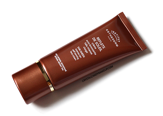 Institut Esthederm Sun Sheen Intense Tan Self Tanning Face Cream Review
