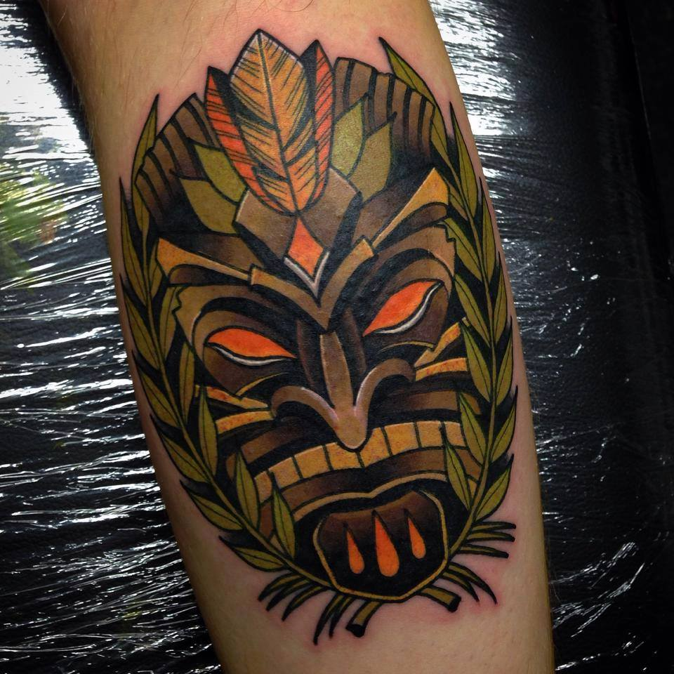 Polynesian Tiki Tattoo Designs: The Tattoo World : 2017