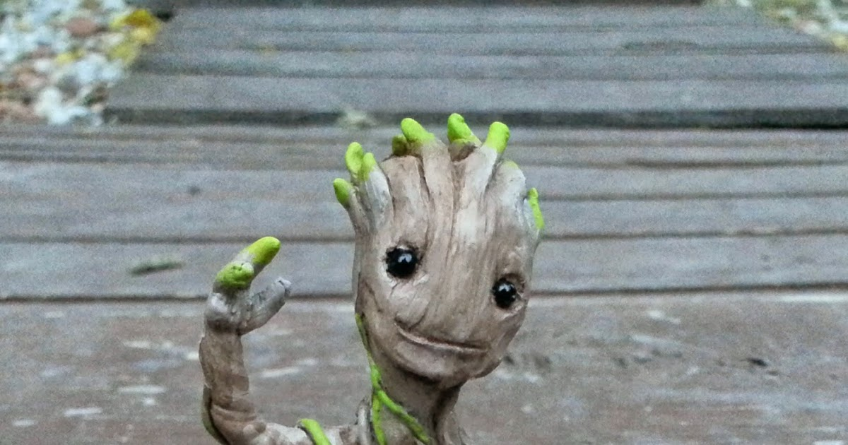 The Blot Says Baby Groot Guardians Of The Galaxy Resin