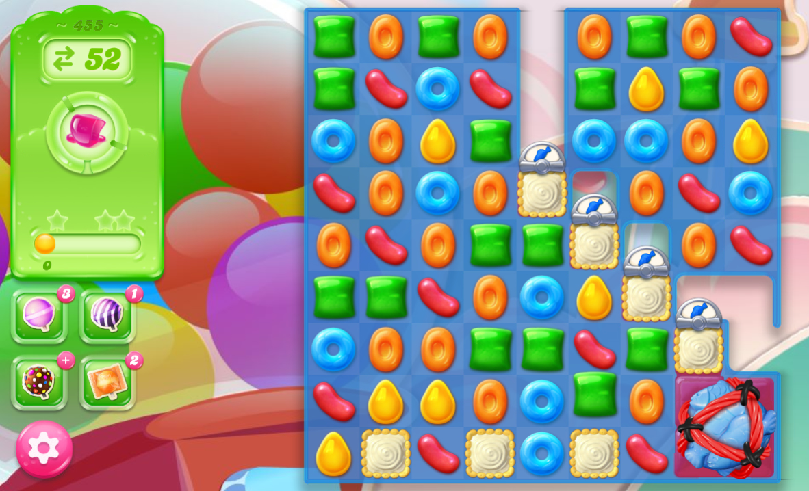 Candy Crush Jelly Saga saga 455