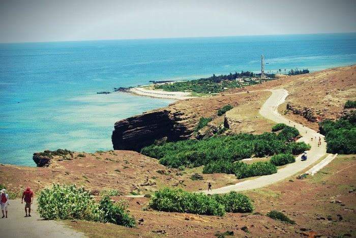 Thoải mái tham quan đảo Lý Sơn