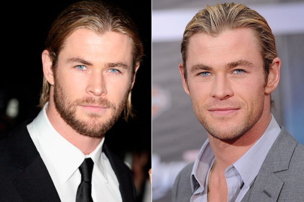 CHRIS HEMSWORTH - BARBA Y PERSONALIDAD