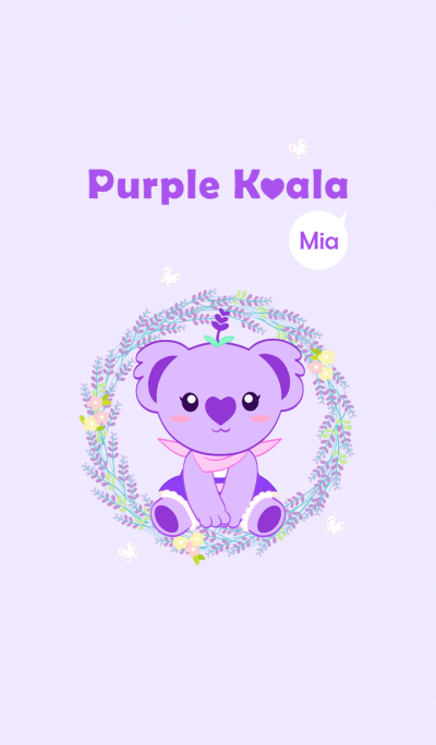 Purple Koala (Mia)