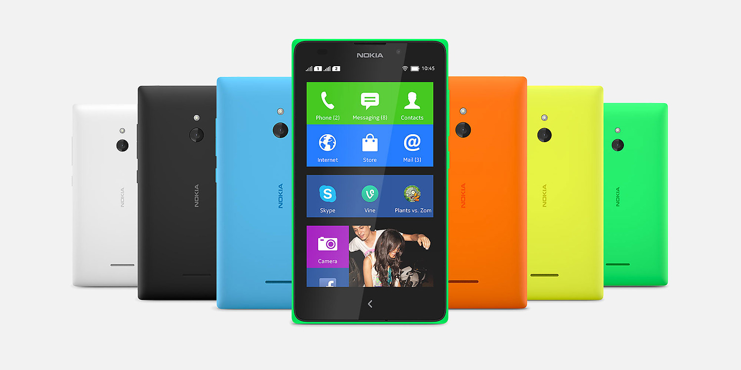 About nokia xl android app