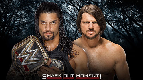 WWE Payback 2016 AJ Styles vs Roman Reigns match
