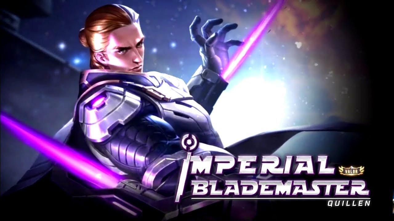 Skin Terbaru Quillen 'Imperial Blademaster' ROV Thailand