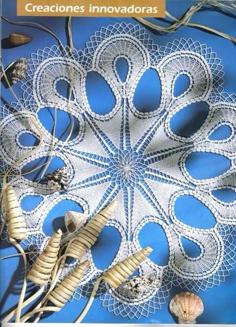 darmowe wzory serwetek szydelkowych