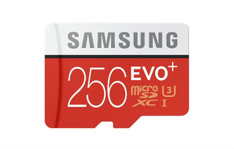 Samsung EVO Plus 256 GB micro SD card