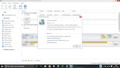 Screenshot NIUBI Partition Editor Technician Edition 7.0.7 Full Version