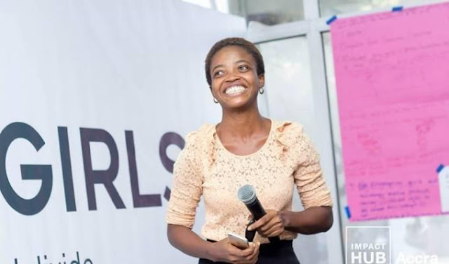 Ivy Barley emerged winner of this year's maiden TEN Ghana Elevator Pitch Contest