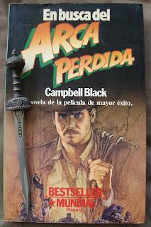 Portada del libro En busca del arca perdida, de Campbell Black
