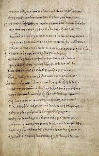 Manuscrito de las fábulas de Brabio