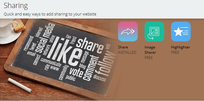 Sharing Tools-Share, Image Sharer and Highlighter by SumoMe