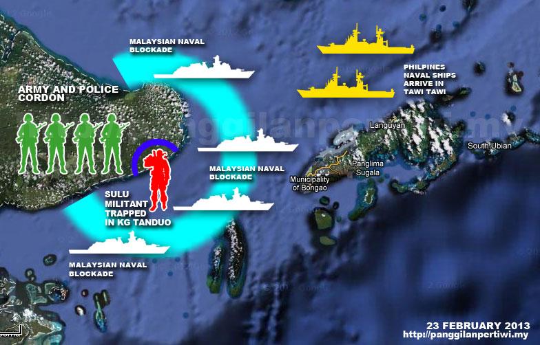 Analisis: Pencerobohan Lahad Datu Oleh 'Tentera DiRaja Kesultanan Sulu'   Andak