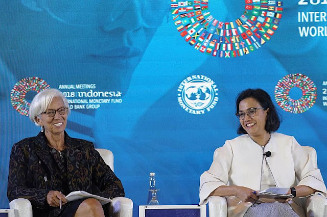 Menkeu Sebut Pertemuan IMF-World Bank 2018 di Bali Buat Negara Lain Khawatir