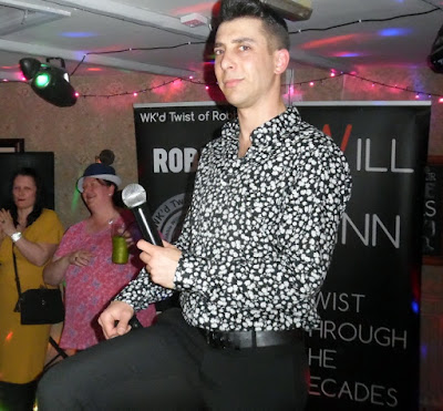 The Wk'd Twist of Robbie - a Robbie Williams tribute -  at the Britannia Inn, Brigg on March 23, 2019
