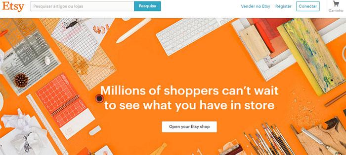 etsy brasil site para vender artesanato online