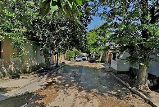 Улица Сергеева-Ценского в Симферополе