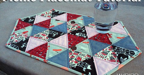 Picnic Placemat Tutorial Jaybird Quilts