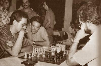 Parece que Estrella y Torrecillas jueguen por parejas en el XVI Torneo Abierto Sant Andreu 1987