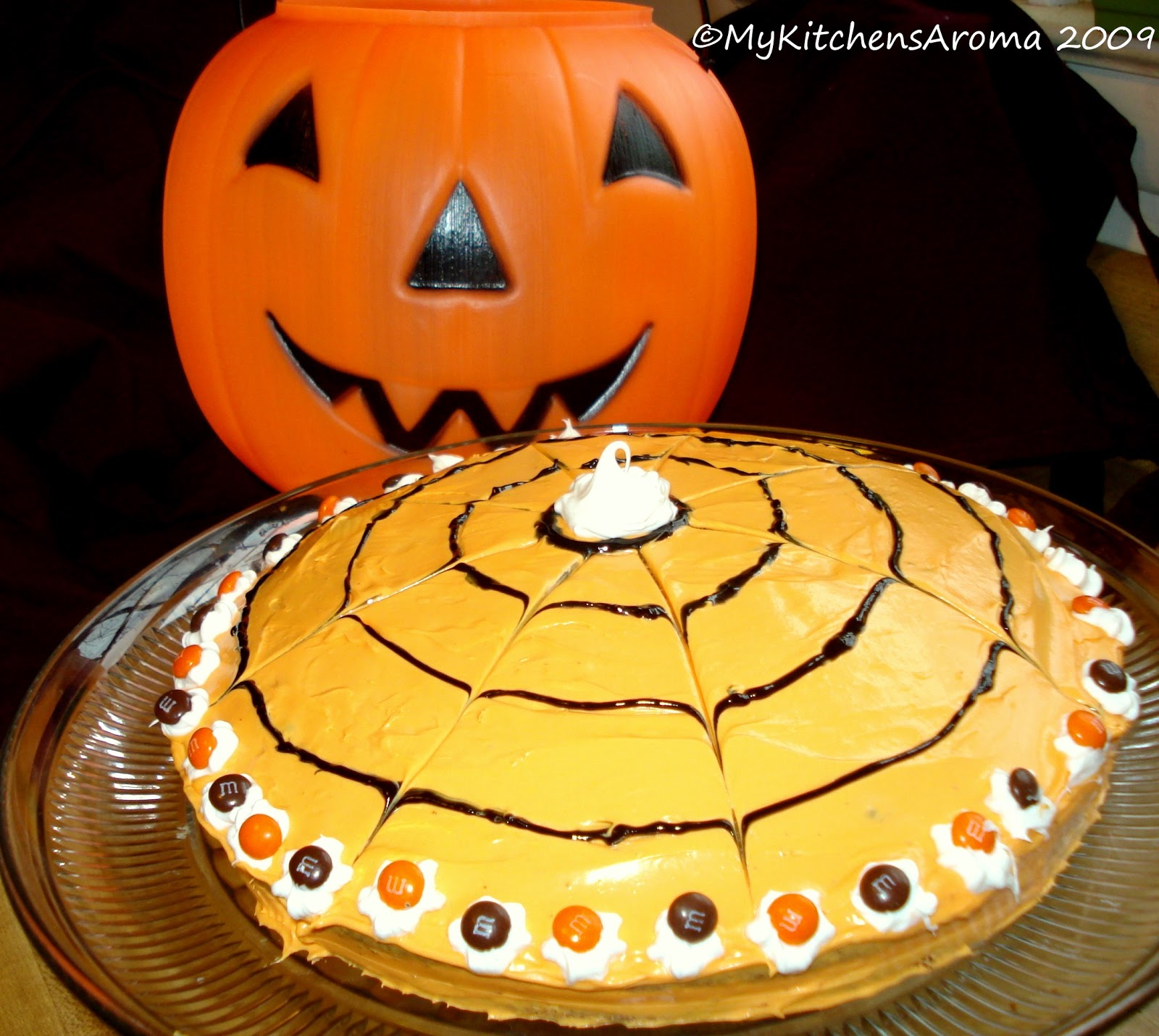 Pumpkin Shaped Cake Bundt Pan