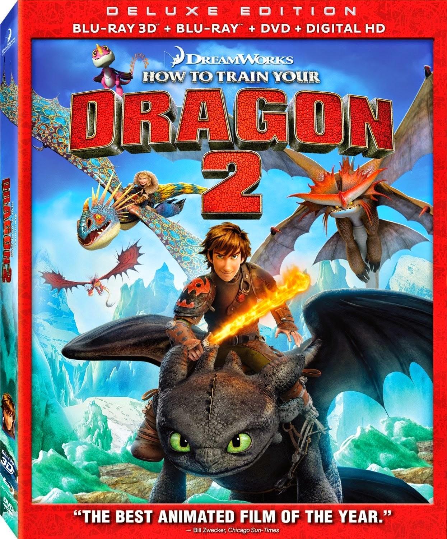 Como Entrenar a Tu Dragon 2 (2014) 3D 1080p BD25