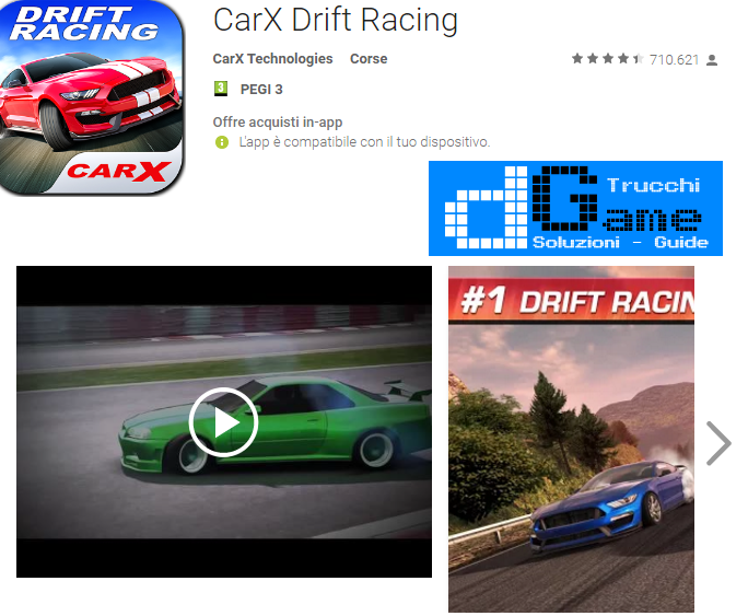 Trucchi CarX Drift Racing Mod Apk Android v1.5.1