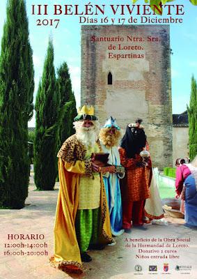 Belén Viviente 2017 - Espartinas - Hermandad de Loreto