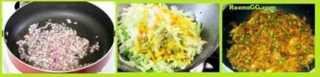 Patta Gobhi Sabji Recipe Step 2